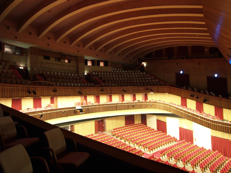 Tecesa acustica visual for Teatro de la laboral
